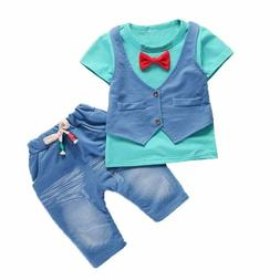 Kids Clothing for 0-4Y Boys Children Boy Clothing Sport Suit