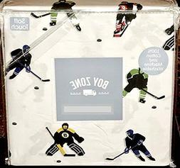 Boy Zone Kids Hockey Sports Full Size Sheet Set