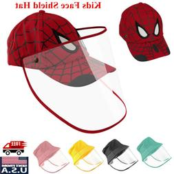 For Kids Protective Full Face Shield Hat Safety Cover Anti S