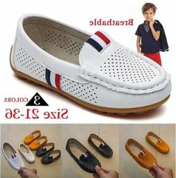 Kids Shoes for Boys Children's Casual Hollow Breathable Snea