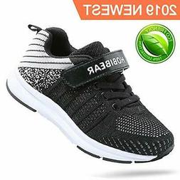FEIKENIU Kids Sneakers, Running Lightweight Shoes for Boys a