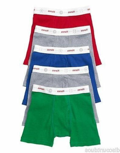 10 Pack Boys' Boxer Underwear - Assorted Colors - 2T/3T