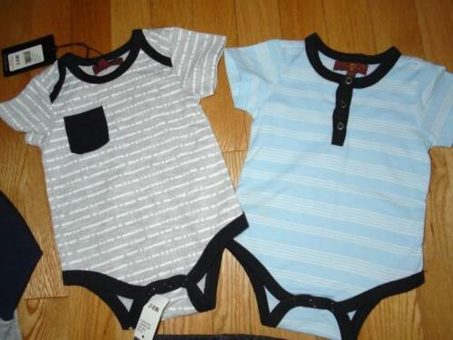 7 All 4 Pc Lot Baby Boys Coverall