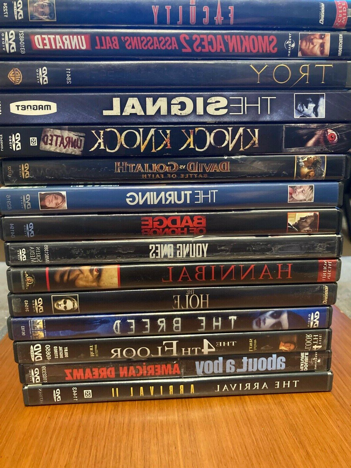 5 dvd movies for sale movie lot