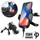 Qi Wireless Fast Charger Car Charging Air Vent Mount Holder