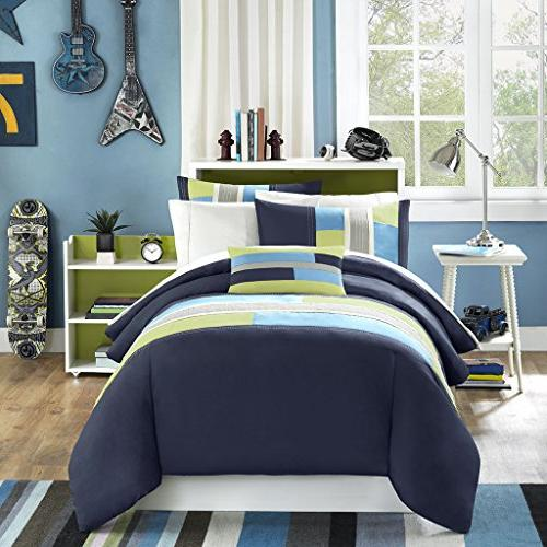 Mi-Zone Bedding - Pieced Boy Ultra Soft Microfiber Childrens