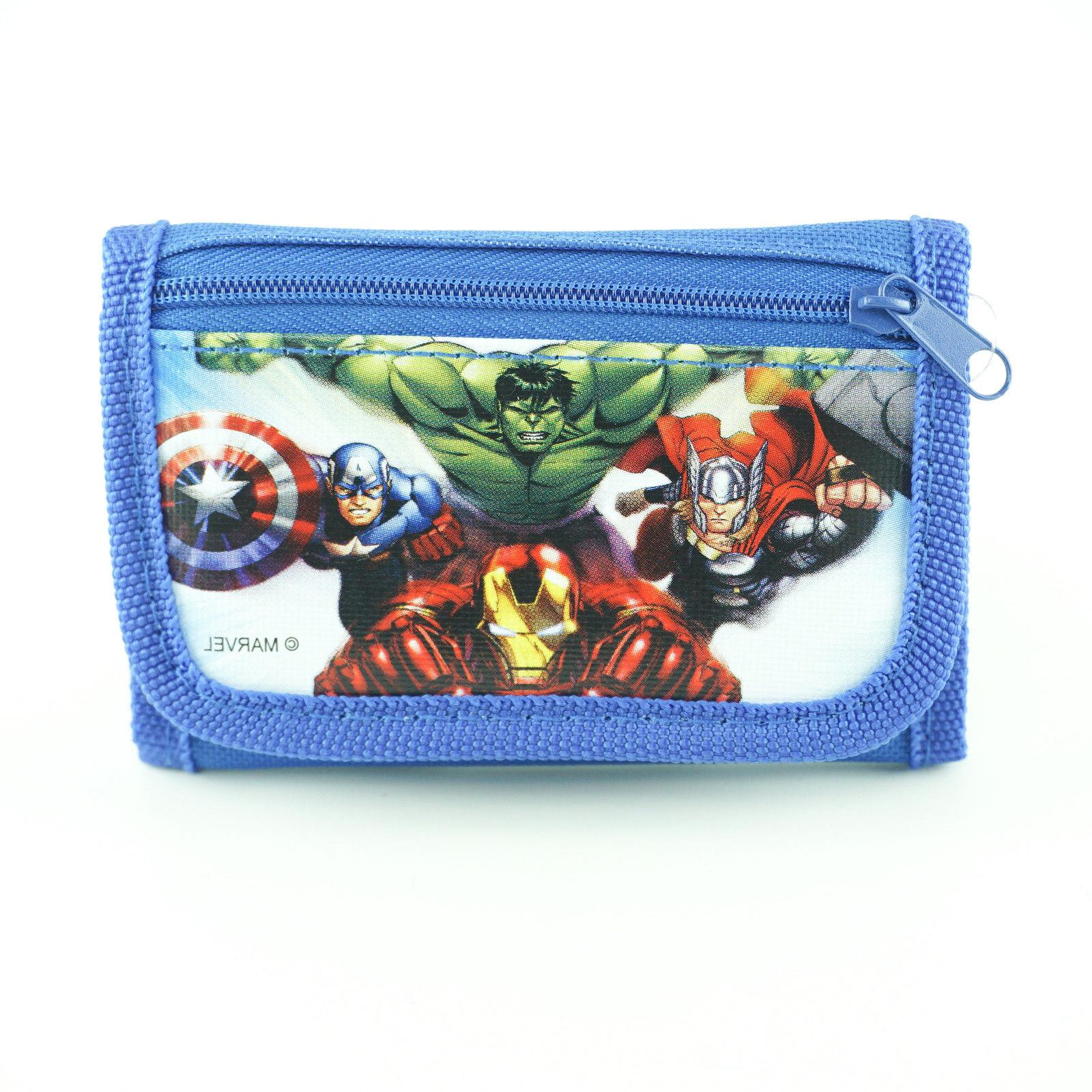 avengers wallet for boys superheroes kids wallets