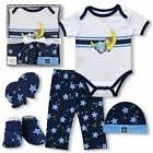 Precious Moments Baby Boy Gift Set 5 Pieces NIB Bodysuit Pan