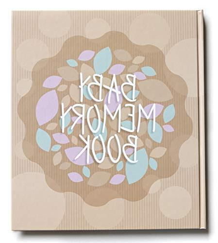 baby journal memory book first year pregnancy simple intuiti