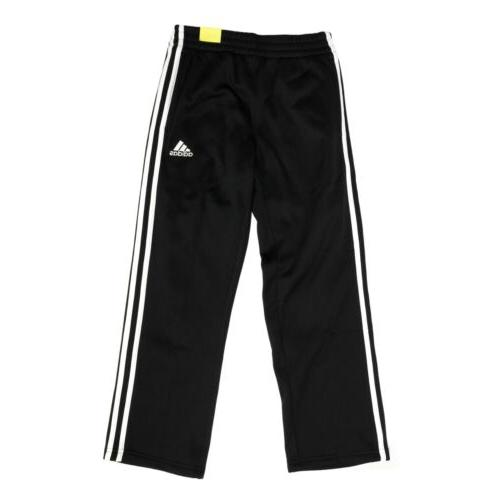 black active trainer pants for boys elastic