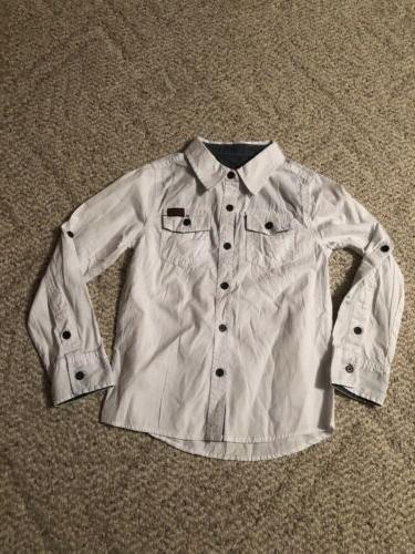 boys button up shirt new with tags