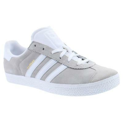adidas Originals Boys Gazelle 2 Beige Fashion Sneakers 6 Med