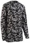 Augusta Sportswear Boys New Digital Camo Polyester Long Slee