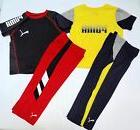PUMA Boys New Light Weight Sport Outfit Set size 2T 3T 5 Nwt