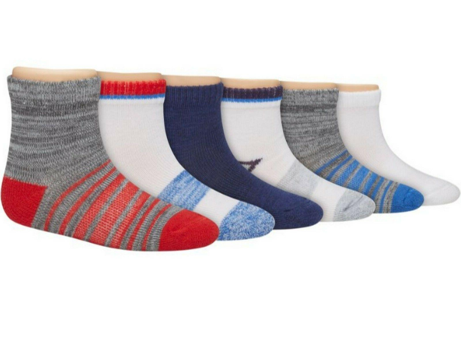 boys toddler ankle socks 6 pack tb27w6