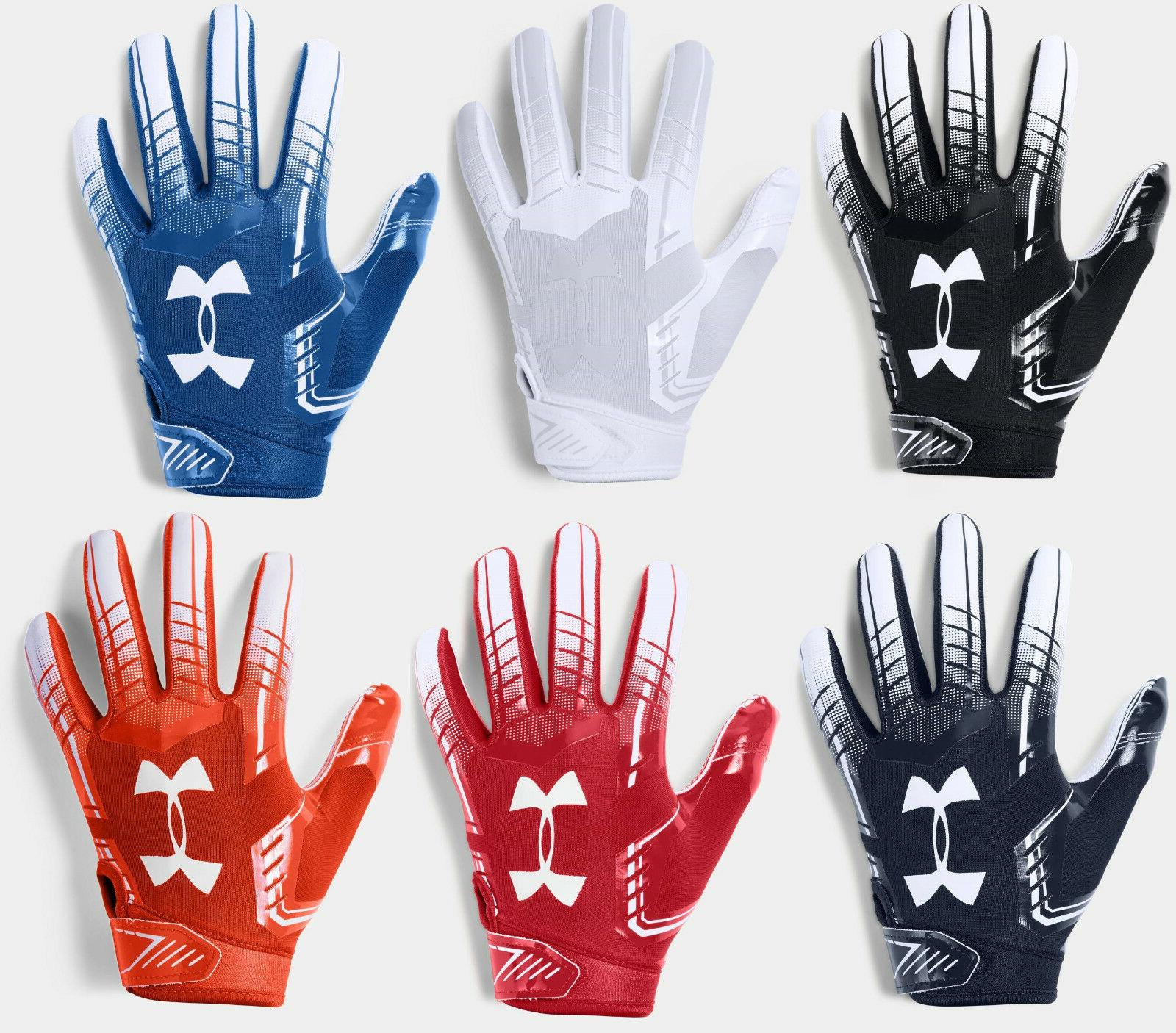 Under Armour Boys UA 2019 F6 Youth Football Receivers Gloves