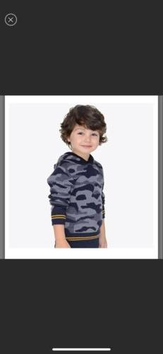 Mayoral Camouflage hoody jumper for boys size 6 NWT