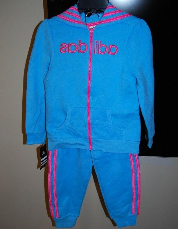 Adidas piece sets for girls $54 NWT