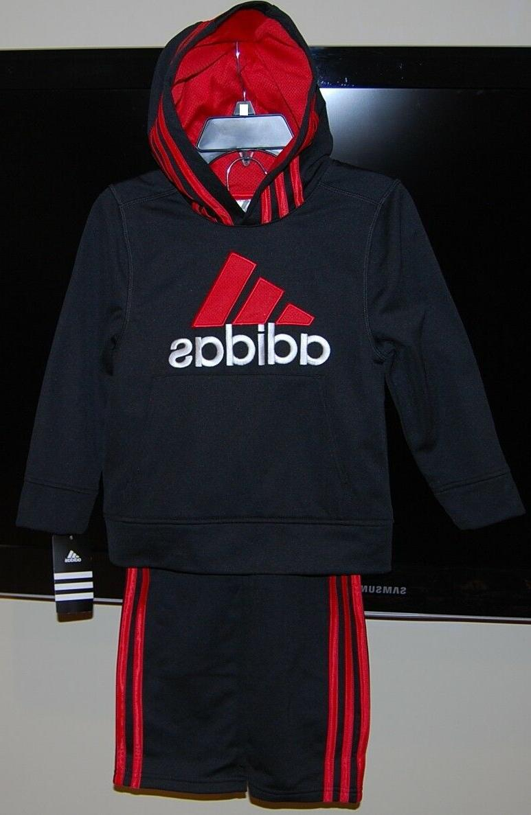 Adidas children hooded 2 piece active sets for and $54 price