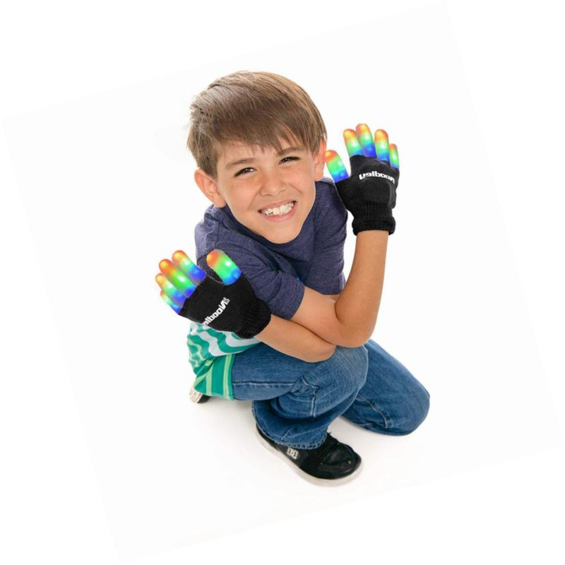 Finger Gloves Boys Games (Small, Bl