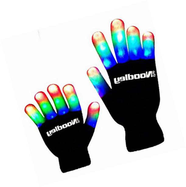 children led finger light gloves boys toys