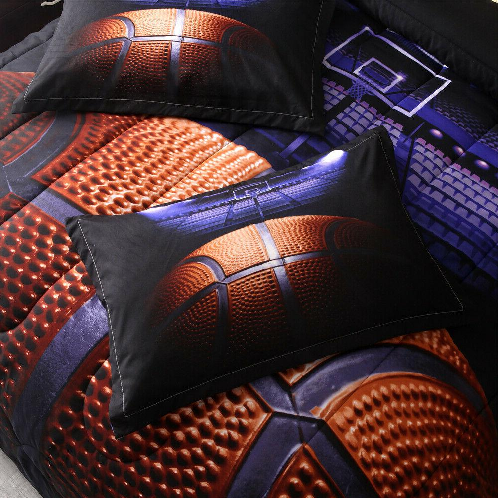 Basketball Court for Sports Bedding