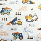Boy Zone CONSTRUCTION TRACTOR 4pc FULL SHEET SET Dump Truck