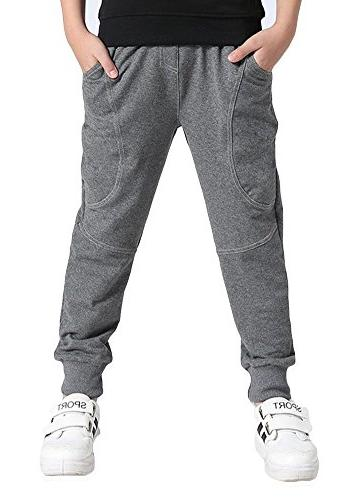 cotton sweatpants adjustable waist jogger