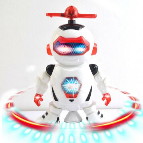 dancing rotate toys for boys robot kids