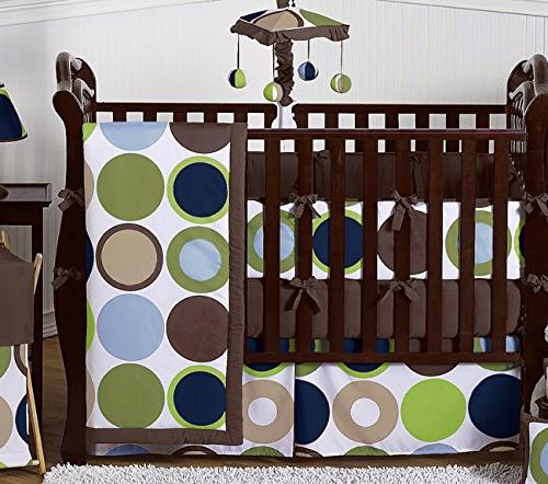 Sweet Designs Designer Dot Boys Crib