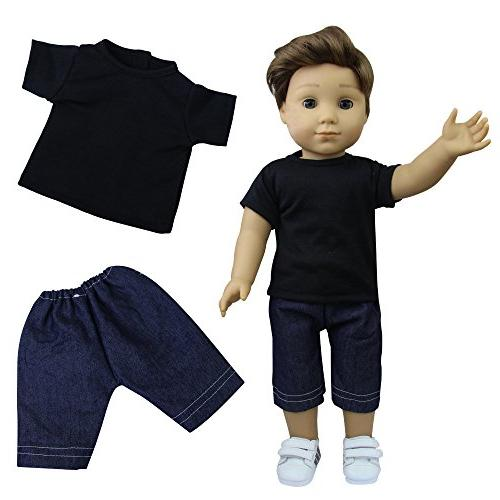 ZITA ELEMENT 6 American Boy | Logan Inch Doll,