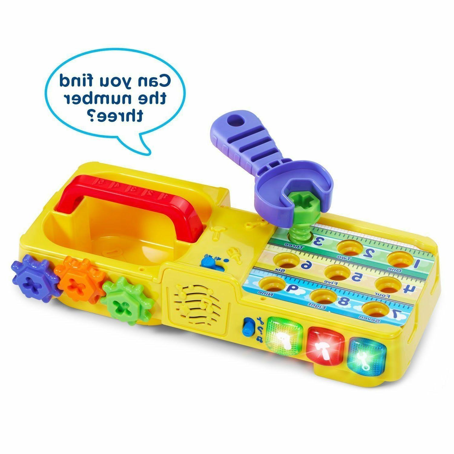 Educational For 2 Year Kids Playset Toolbox