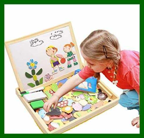 Educational Wooden Girls Kids Toddlers Magnetic Kids2