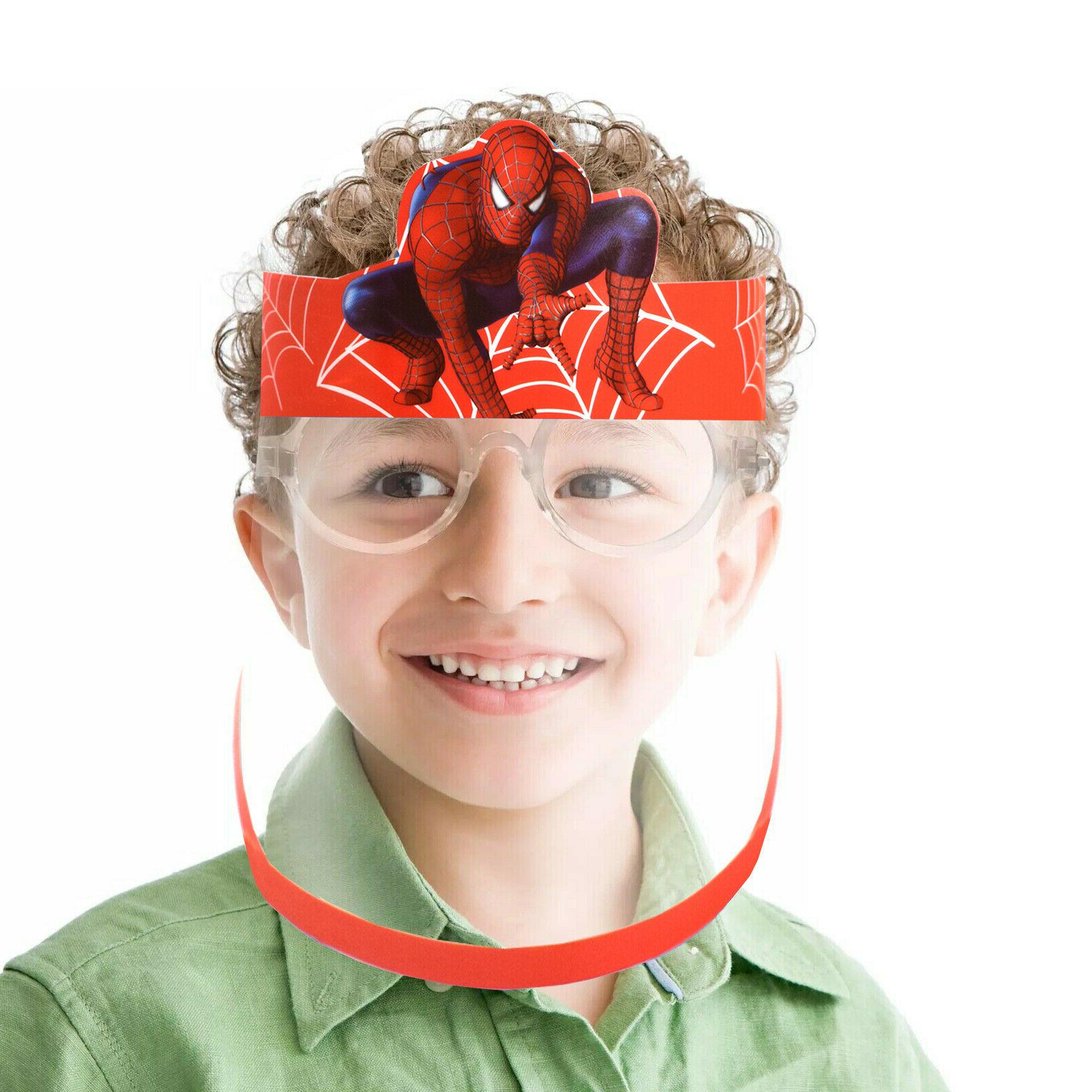 Face Shield kids Boys Girls clear guard plastic 12 year-old