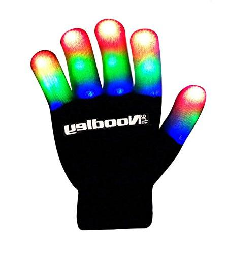 finger light gloves toys games
