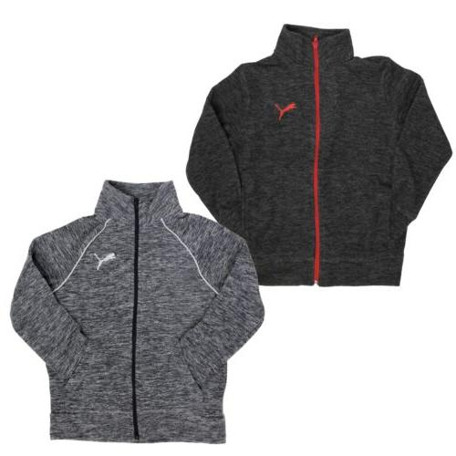 fleece full zip jacket for boys 2