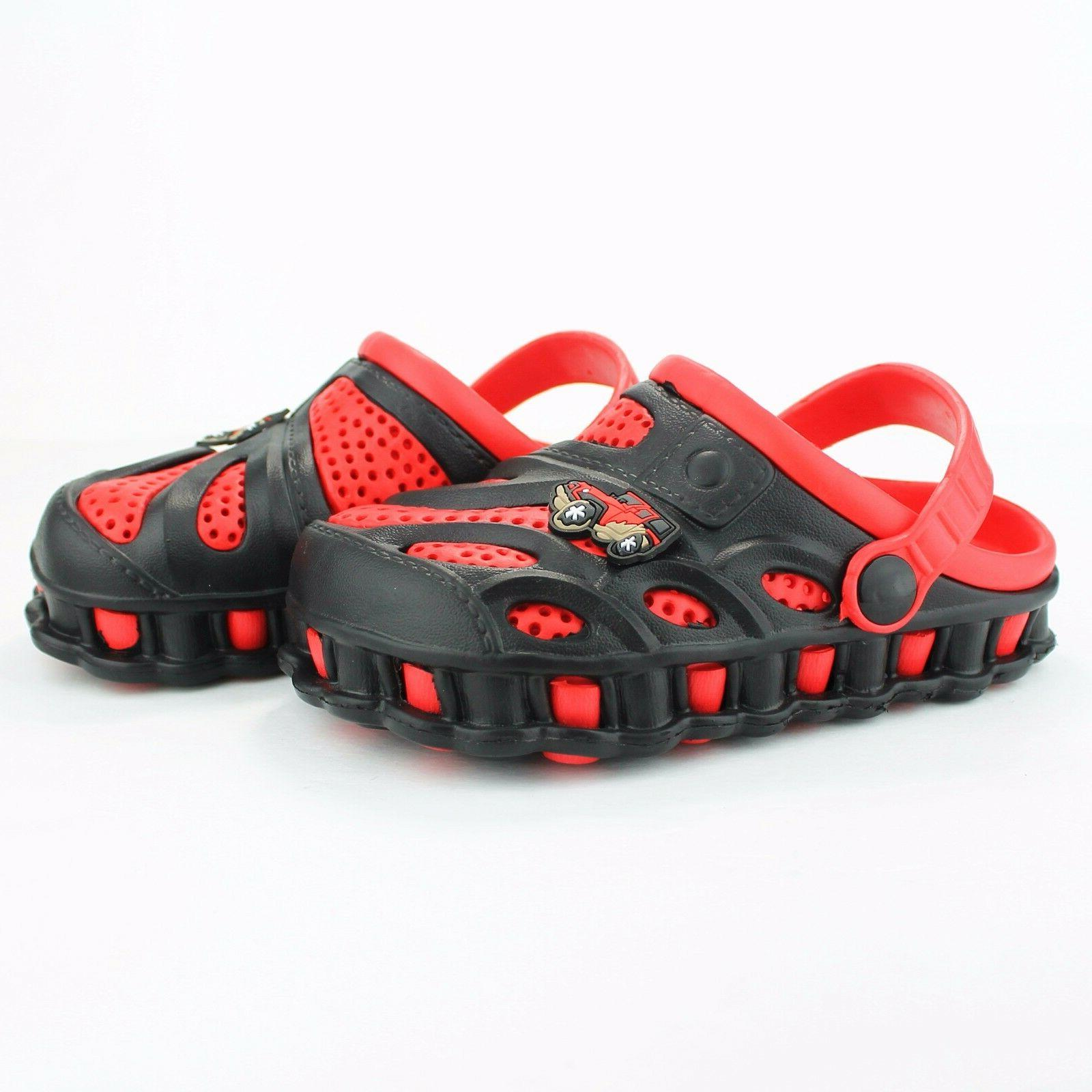 Garden Shoes Boys Kids Casual Two-tone Slipper