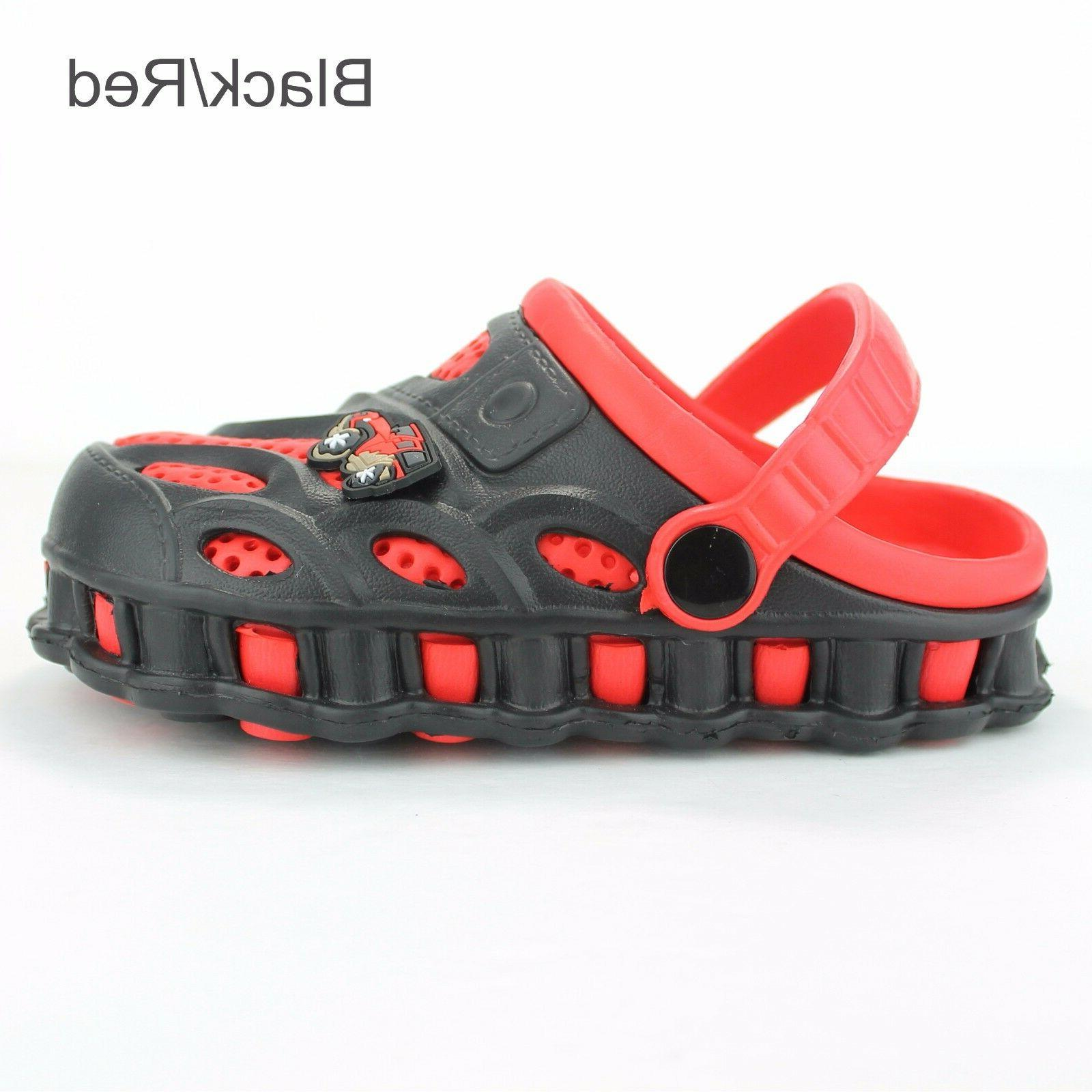 Garden Clogs Shoes Boys Kids Toddler Casual Two-tone