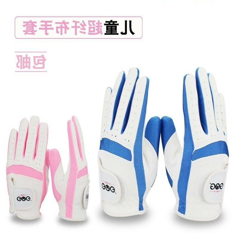 Genuine Golf Gloves For Children Fabric Cloth Boy Girl Hands