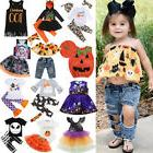 Halloween Newborn Kid Baby Girl Boy Top Dress Long Pants Out