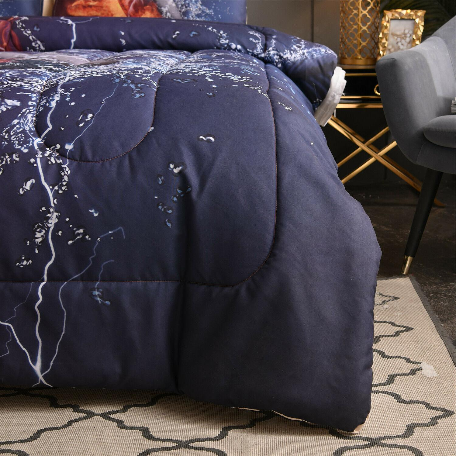 Boys Teens Puck Quilted Bedding Sets Full