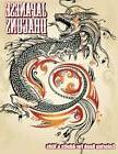 Japanese Dragons Coloring Book For Adults & Kids (Super Fun