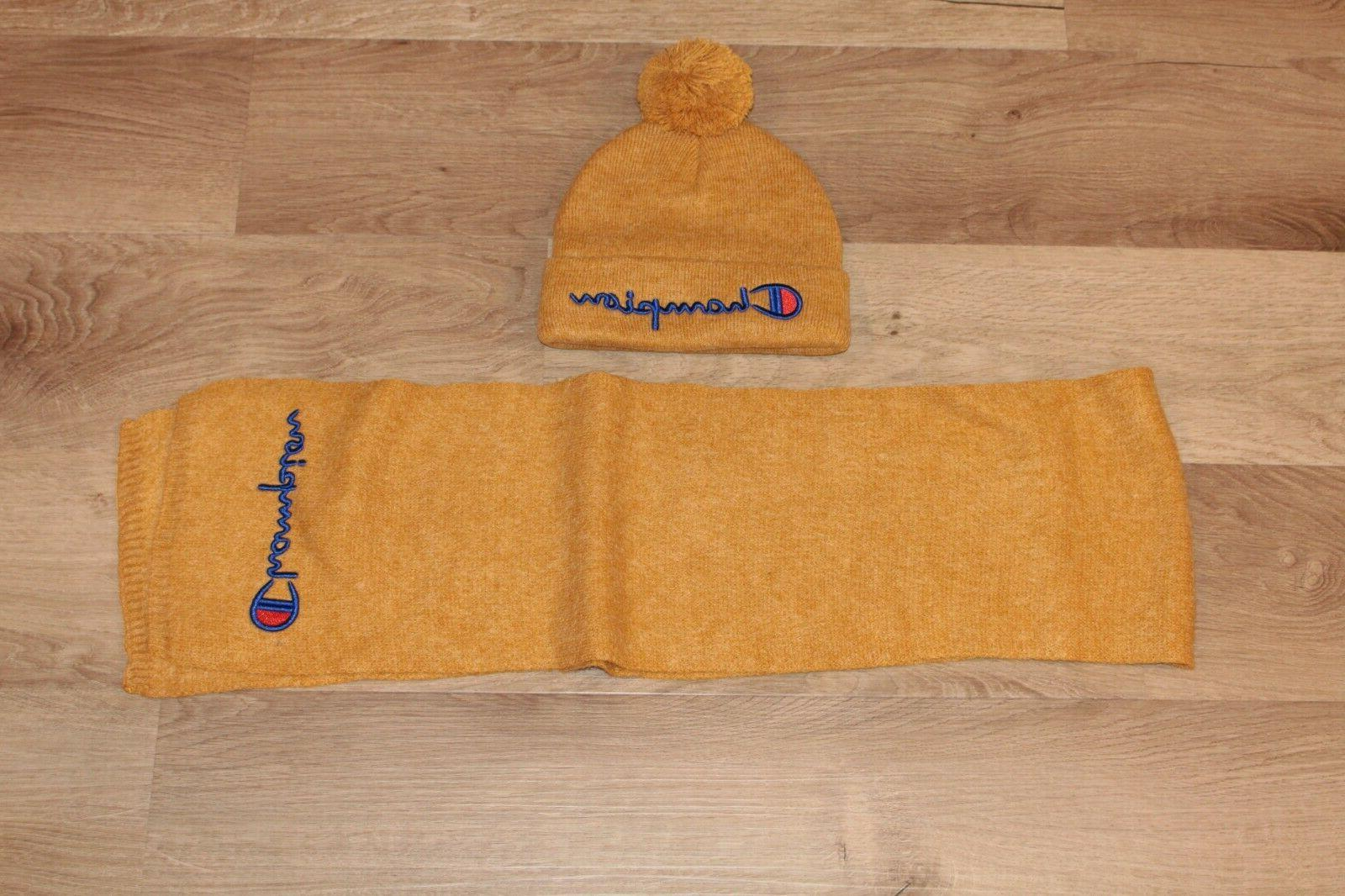 Champion kids scarf set with soft for boys girls
