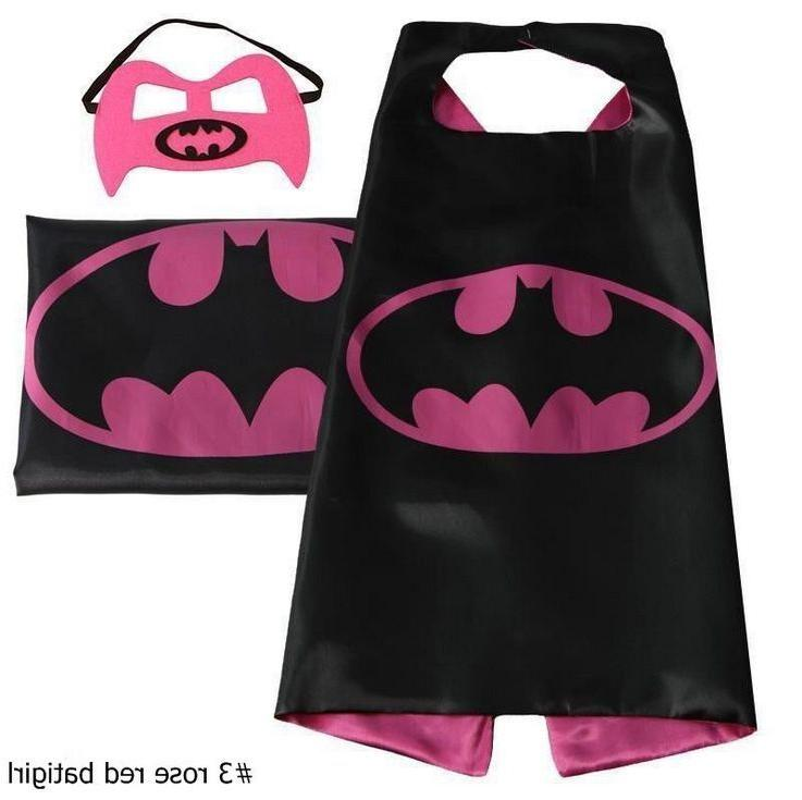 kids Boys Girl Cape cape&mask for kids birthday ideas