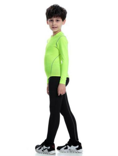 Kids Boys Sports running Gym workout clothes