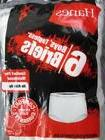 kids boys white solid 6 six pack