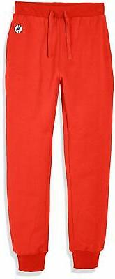 Kid Nation Kids' Casual Jogger Pant for Boys or Girls Tomato