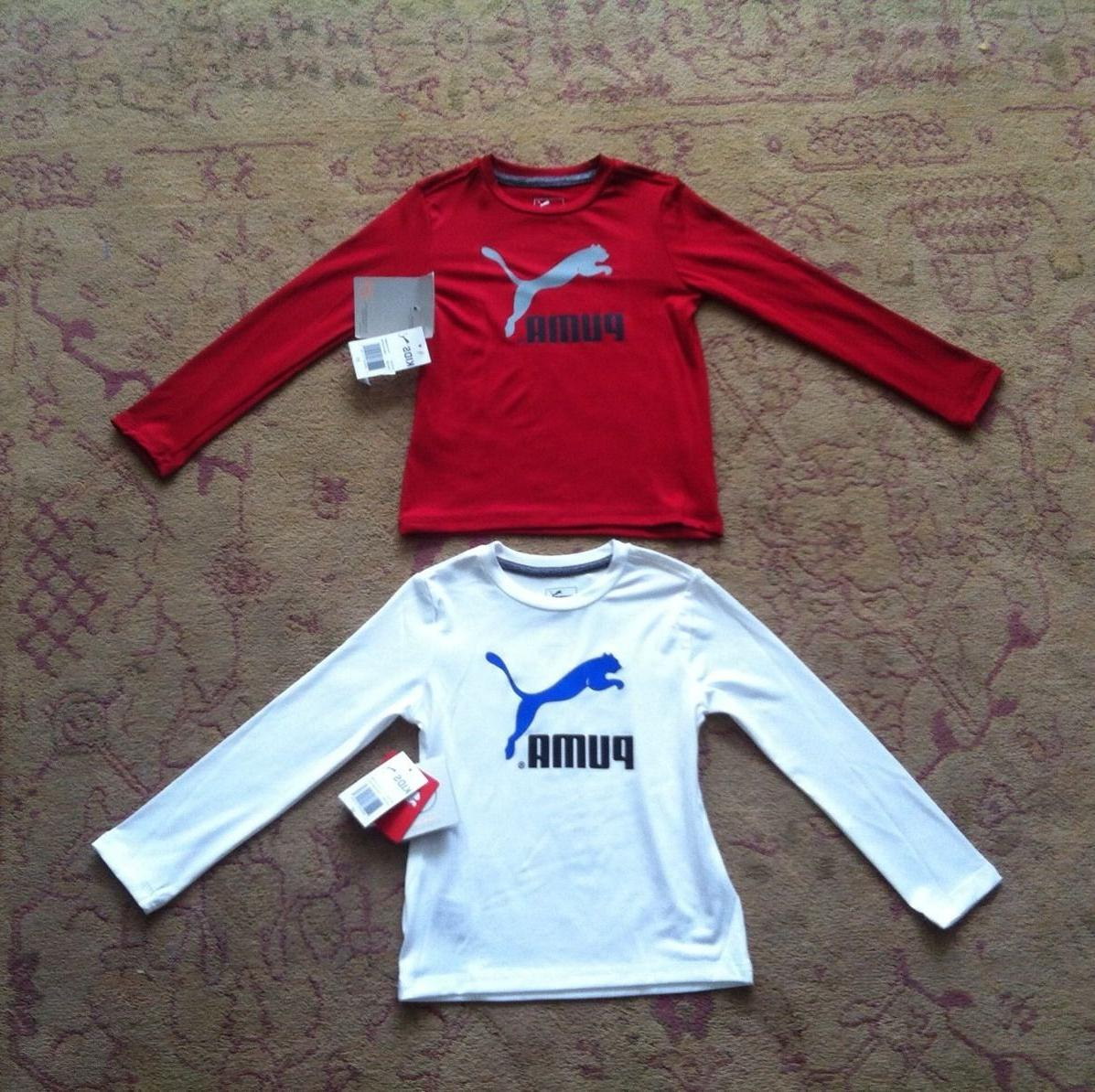 PUMA LONG SHIRTS- SIZE 3T, NWT