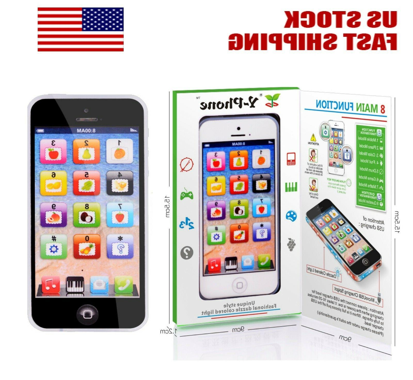 kids simulator music toy cell phone touch