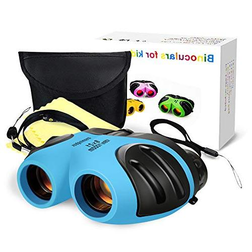 TOP Gift Kids Toys age 3-12, Binocular Teen Birthday Gifts Year Girls Toys for 3-12 Boys Blue